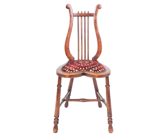 Arts & Crafts Lyre Chair