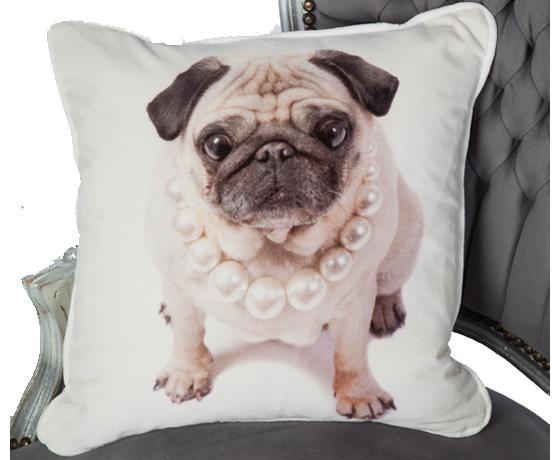 Pug-Cushion