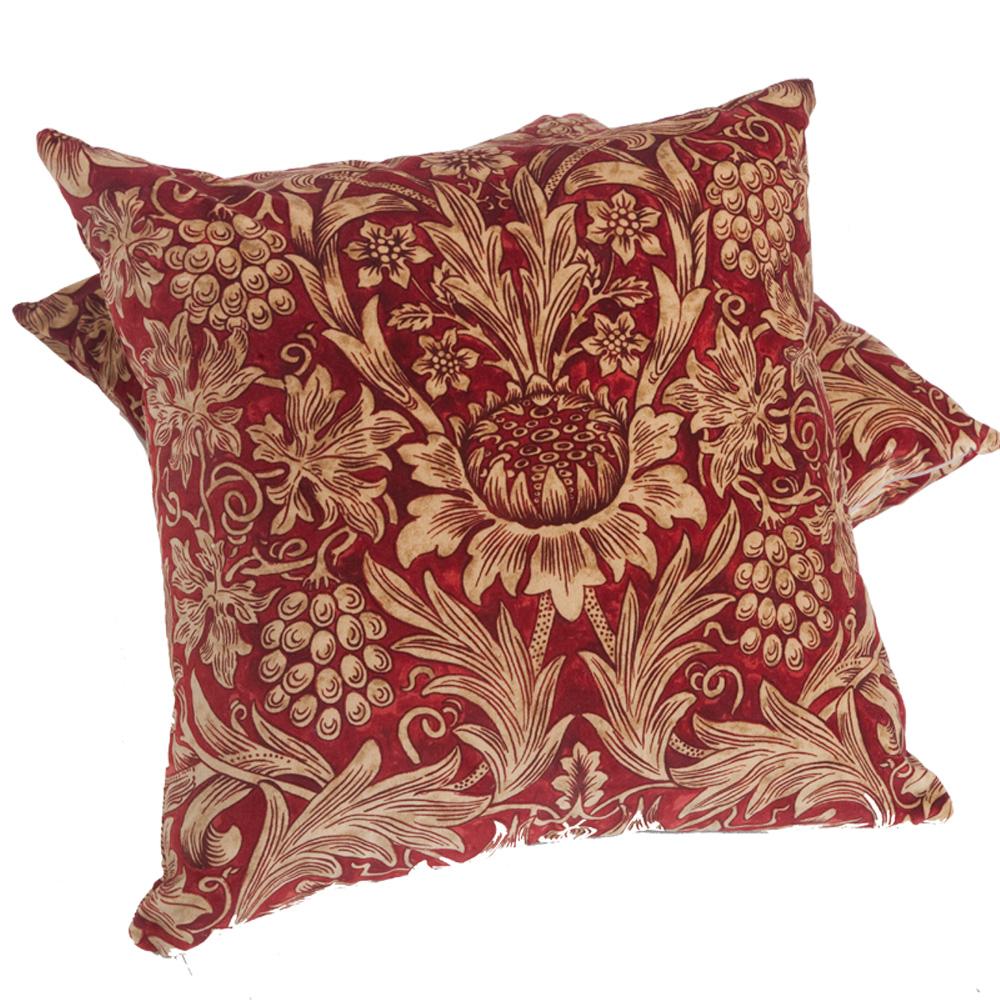 Morris & Co. Sunflower Cushion