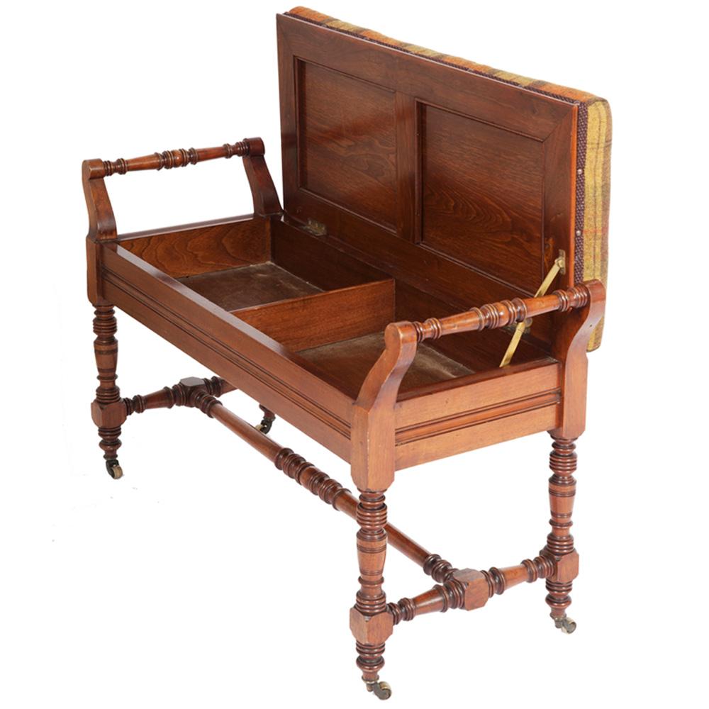 Victorian Duet Piano Stool The Unique Seat Company