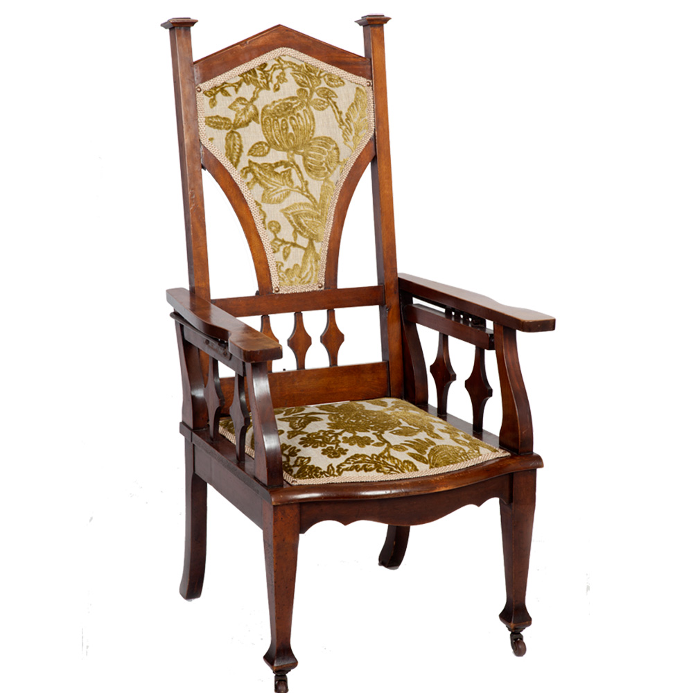 Arts Amp Crafts Reclining Armchair The Unique Seat Company