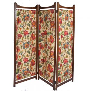 Edwardian-Oak-3-Fold-Screen