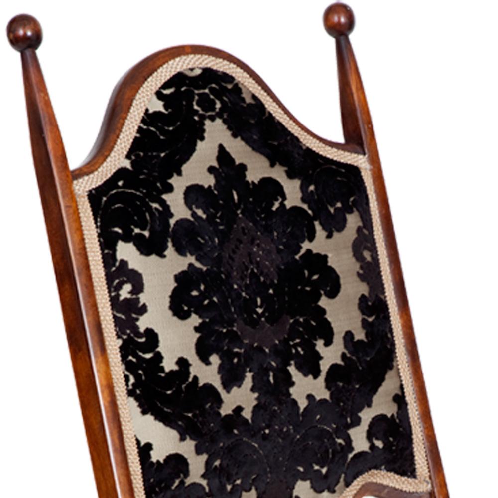Magnificent Victorian Folding Campaign Chair On Castors