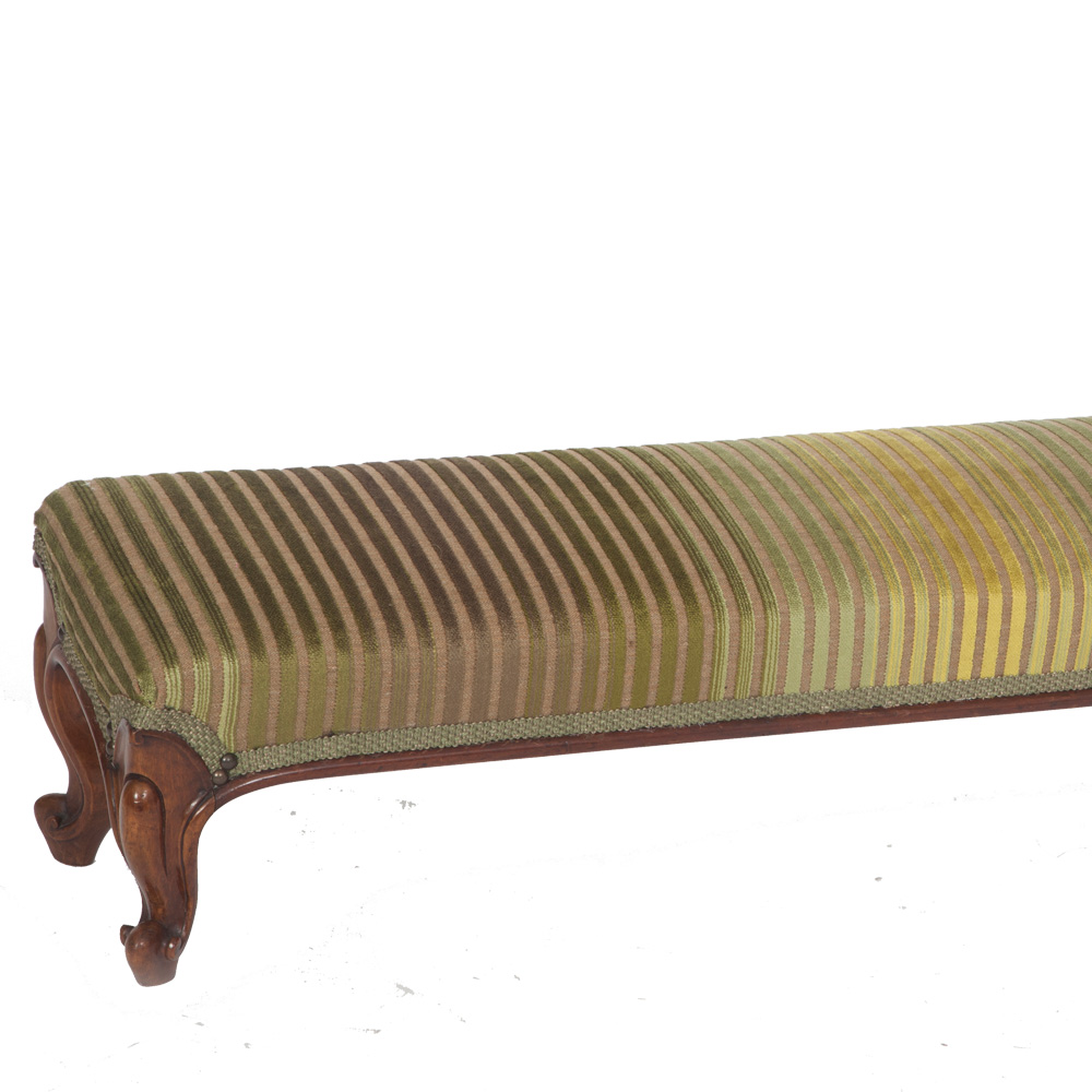 Elongated Victorian Footstool The Unique Seat Company