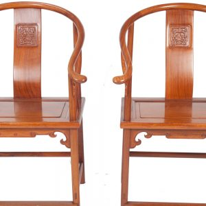 Pair of Early 20thC Chinese Chairs