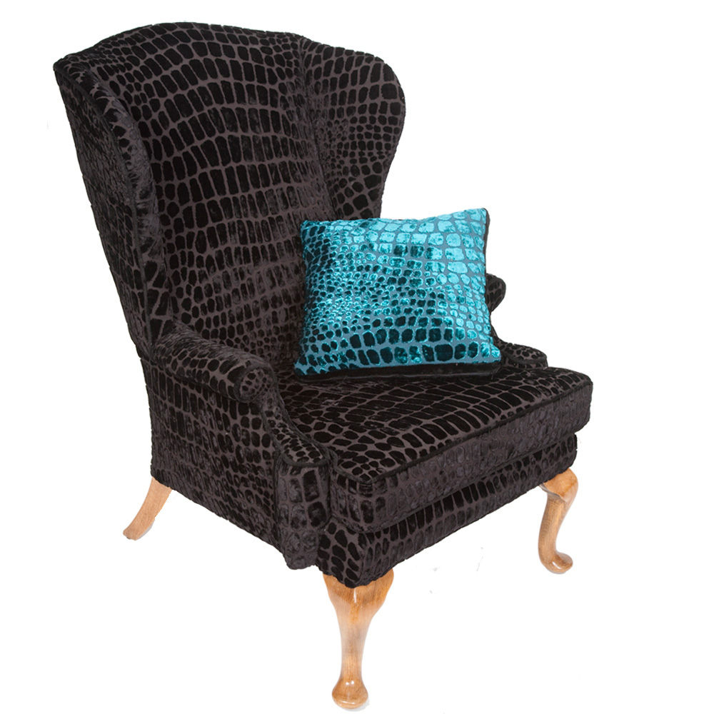 Stunning Vintage Parker Knoll Wing Armchair The Unique