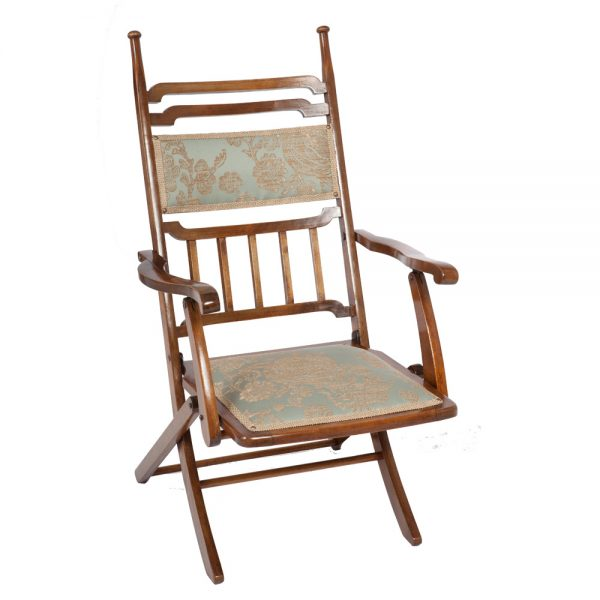 Arts Amp Crafts Folding Campaign Chair The Unique Seat Company