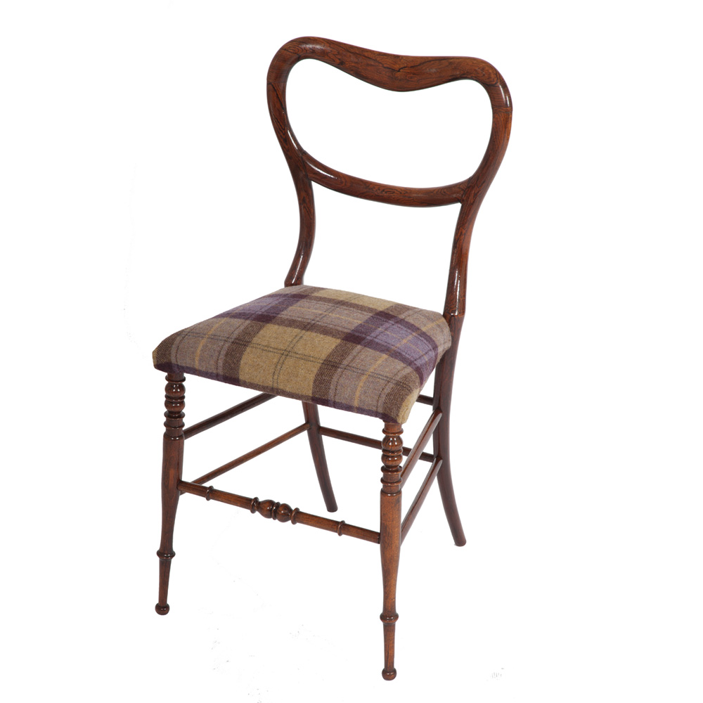 edwardian occasional chair the unique seat company. Black Bedroom Furniture Sets. Home Design Ideas