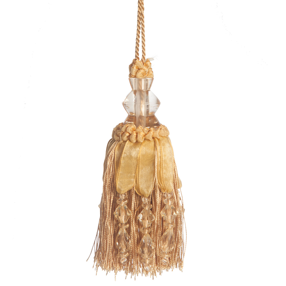 Luxurious Ribbon Amp Crystal Key Tassel The Unique Seat