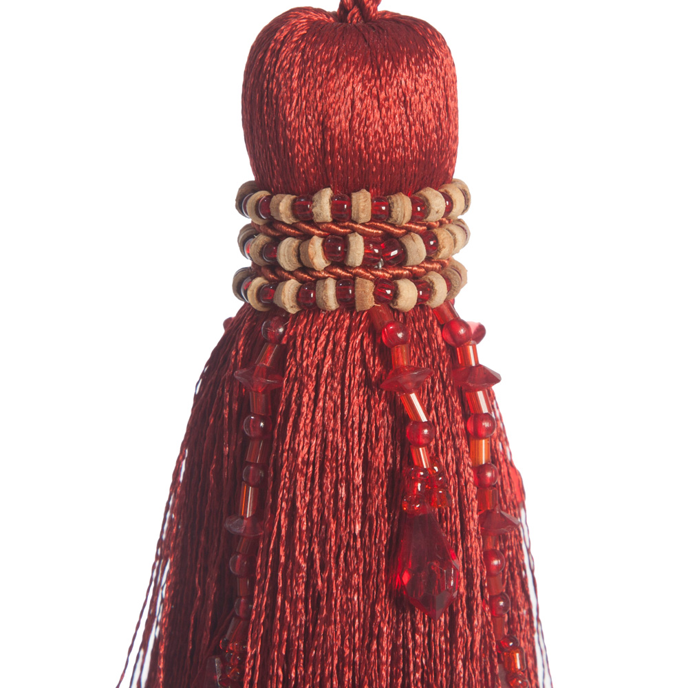 Luxurious Beaded Key Tassel The Unique Seat Company