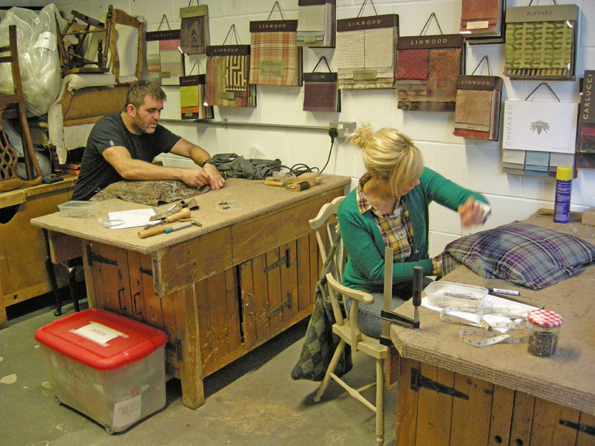 Upholstery courses archives the unique seat company for Furniture upholstery course