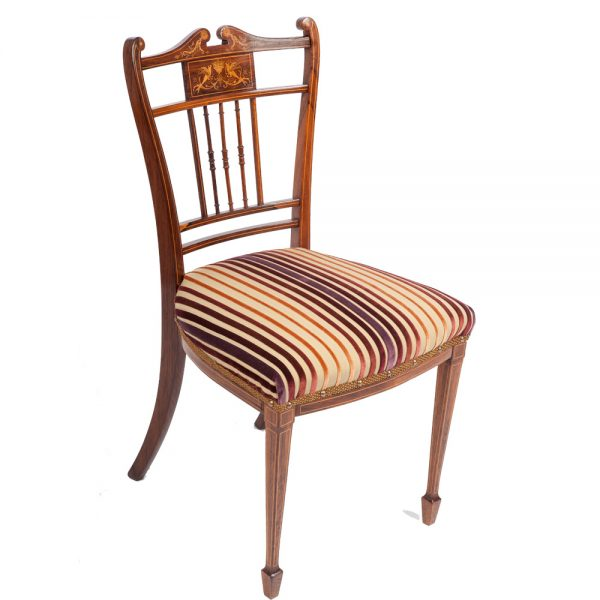 Victorian Occasional Chair The Unique Seat Company