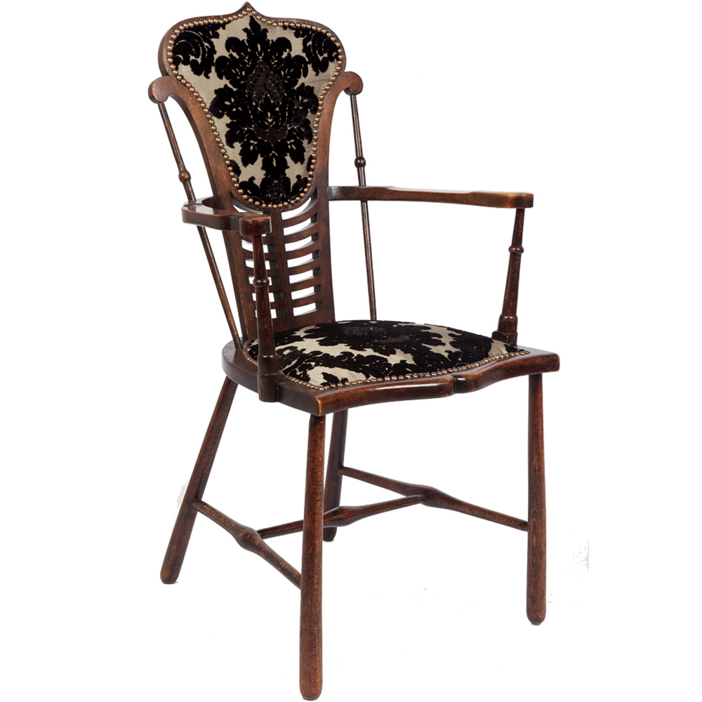 Victorian Antique Armchair - The Unique Seat Company