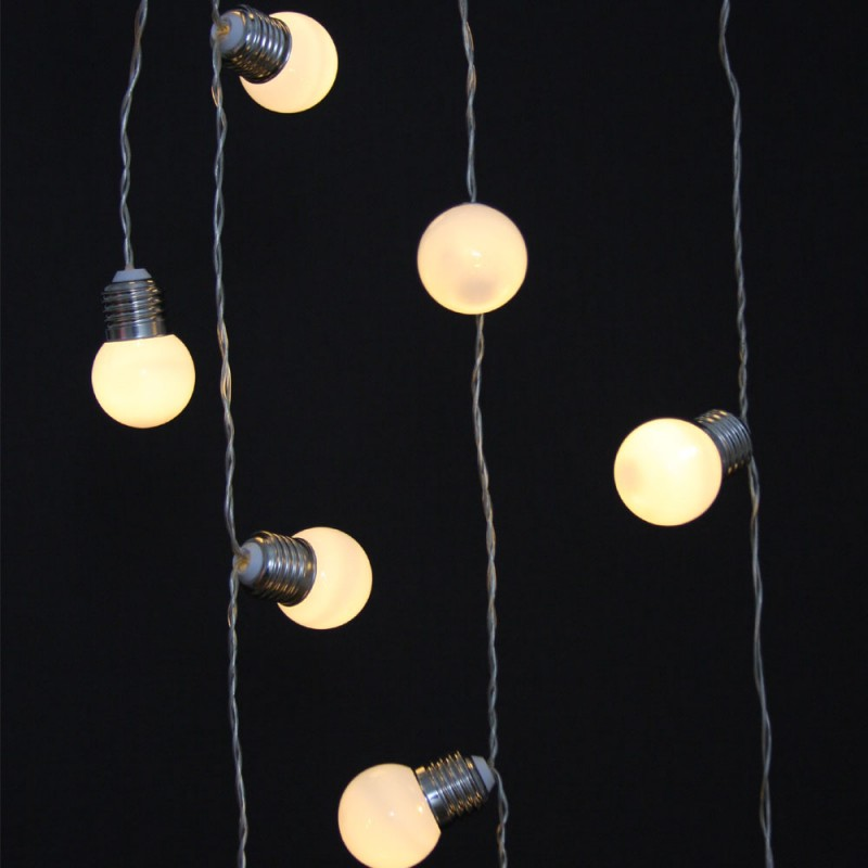 industrial style bulb fairy lights battery operated the unique. Black Bedroom Furniture Sets. Home Design Ideas